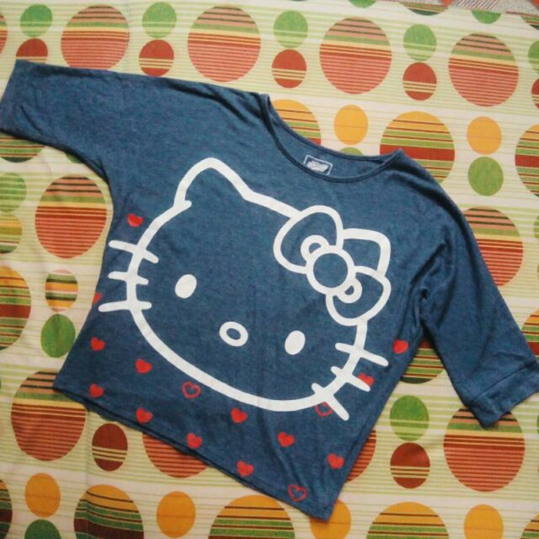 Old Navy Crop Top Hello Kitty