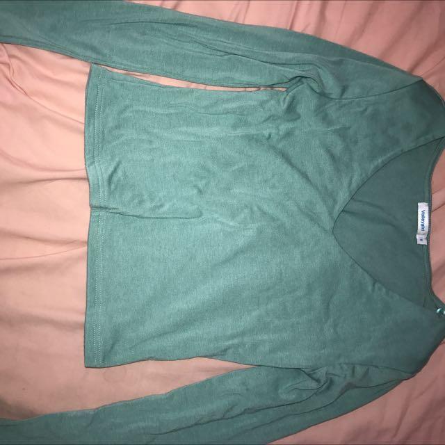 Olive Long Sleeve Shirt
