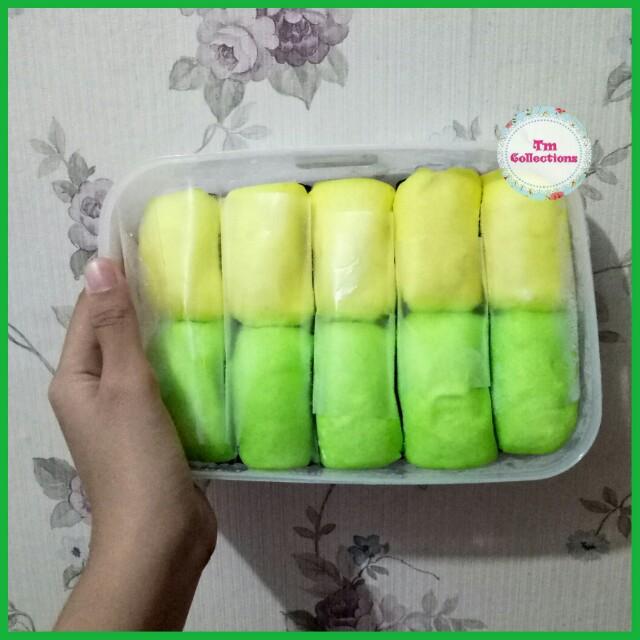 Pancake Durian Pandan Isi 10