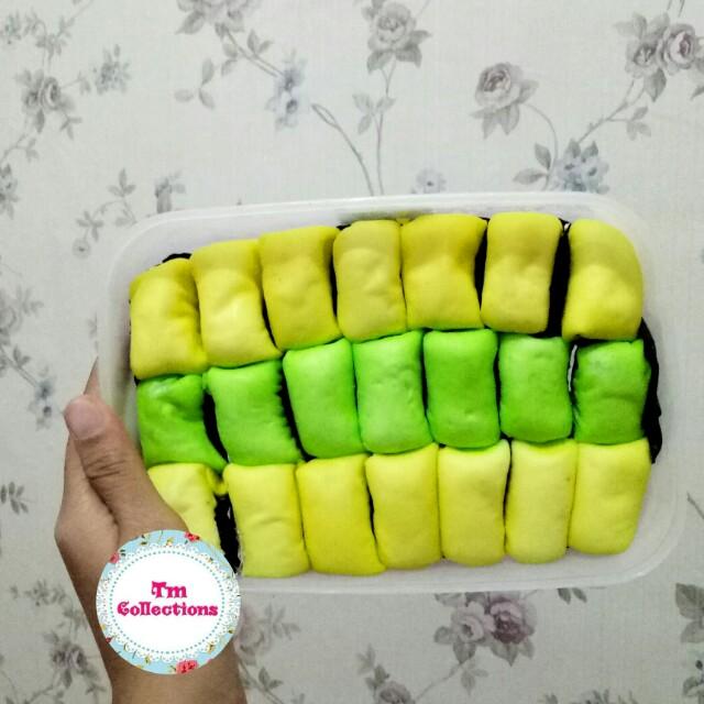 Pancake Durian Pandan Isi 21