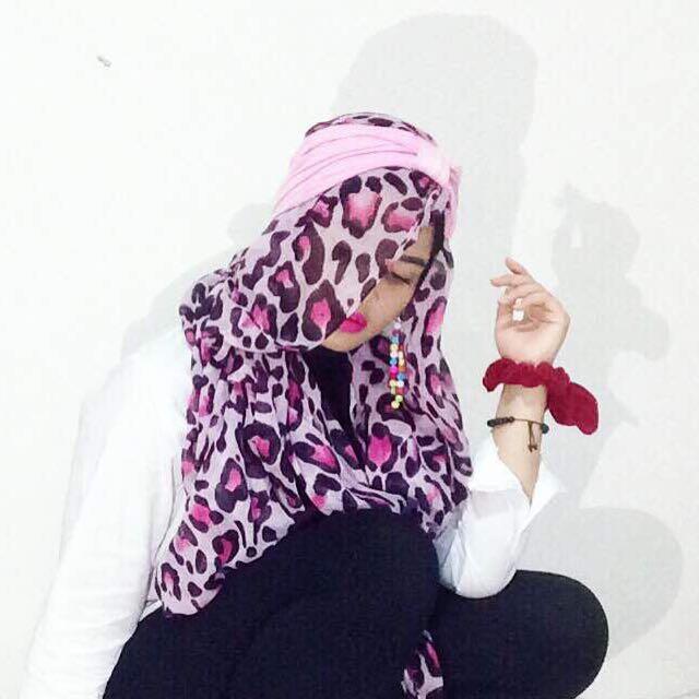Pasmina Pink Leopard