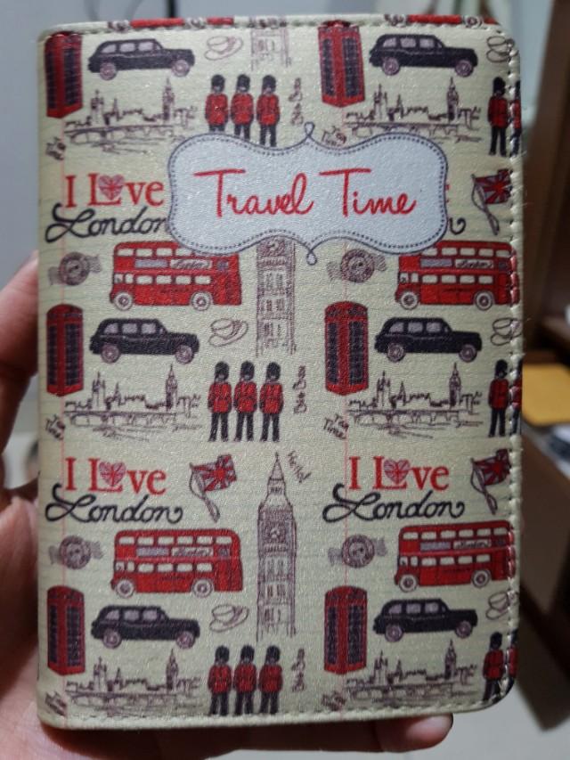 Passport Cover - I Love London