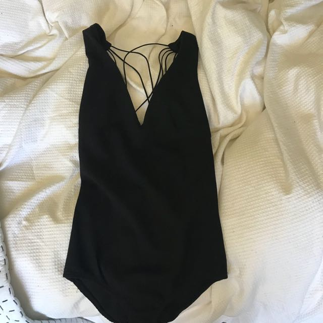 Peppermayo strappy bodysuit