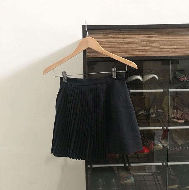 Petite black skirt