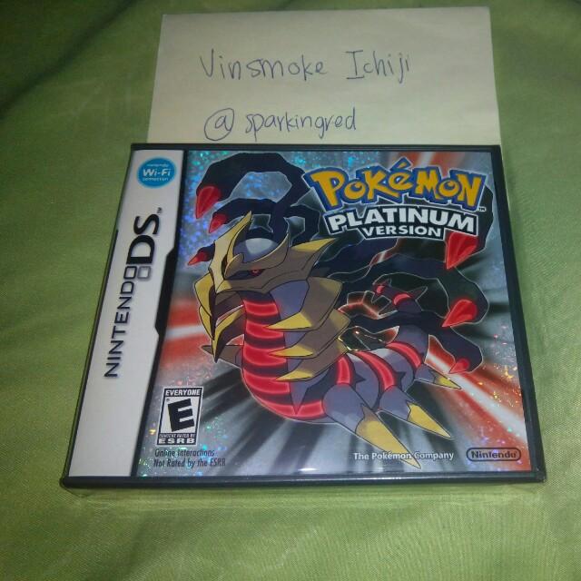 Pokemon Platinum NDS