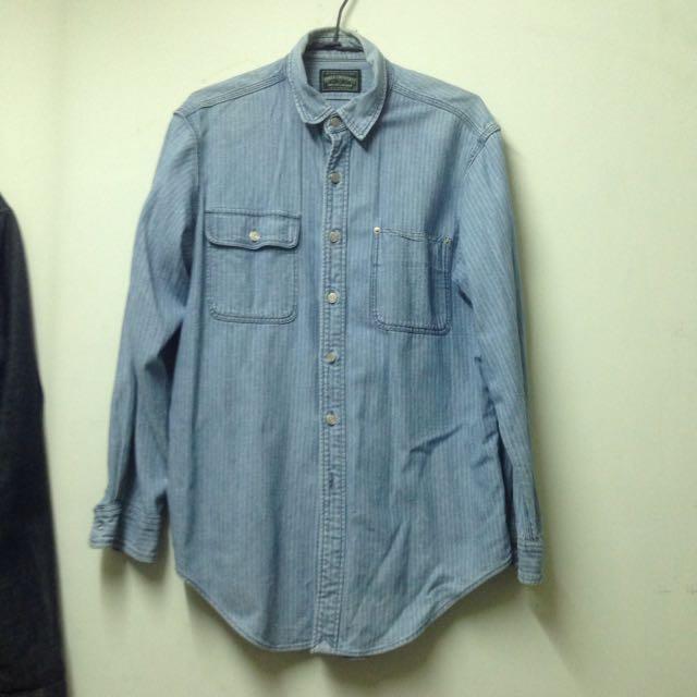 Polo Ralph Lauren 條紋 牛仔襯衫