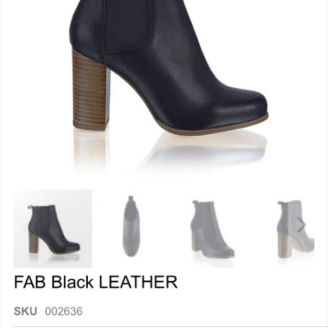 PRICE DROP RMK leather boots