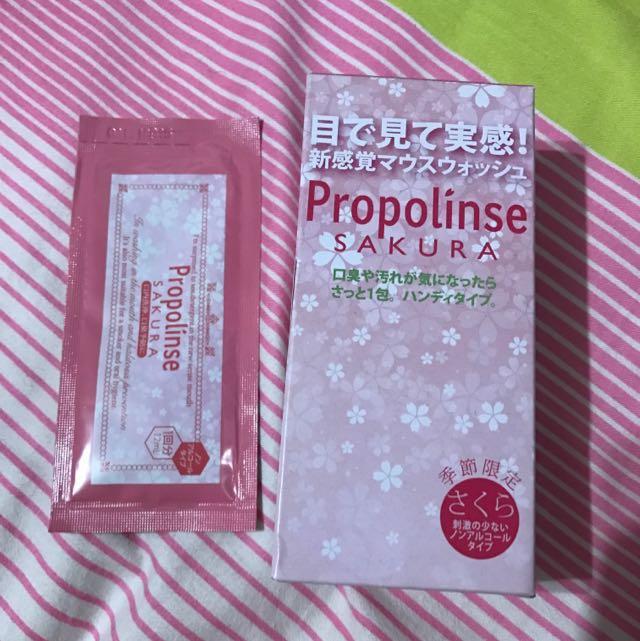 日本Propolinse漱口水 櫻花限定口味