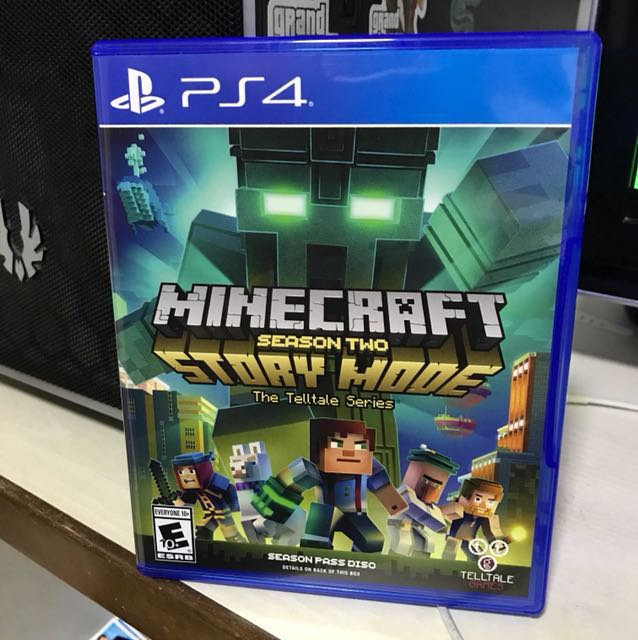 Ps4 Minecraft Story Mode Season 2 Toys Games Video Gaming