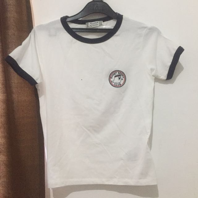 Pull and bear ghost tumblr shirt