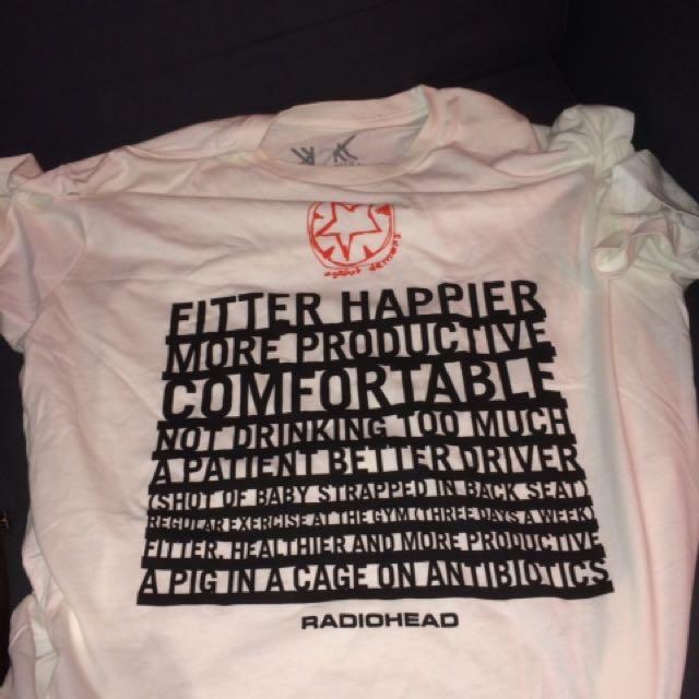 Radiohead official t-shirt