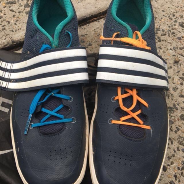Reduced to sell, Adidas Adizero throwing shoes discus shot put hammer size 11