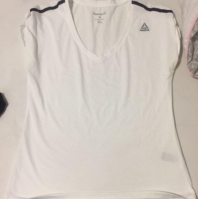 Reebok v-neck shirt