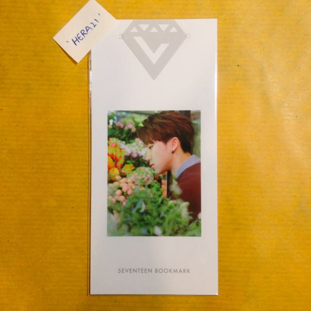 Seventeen The8 Love & Letter Bookmark PC