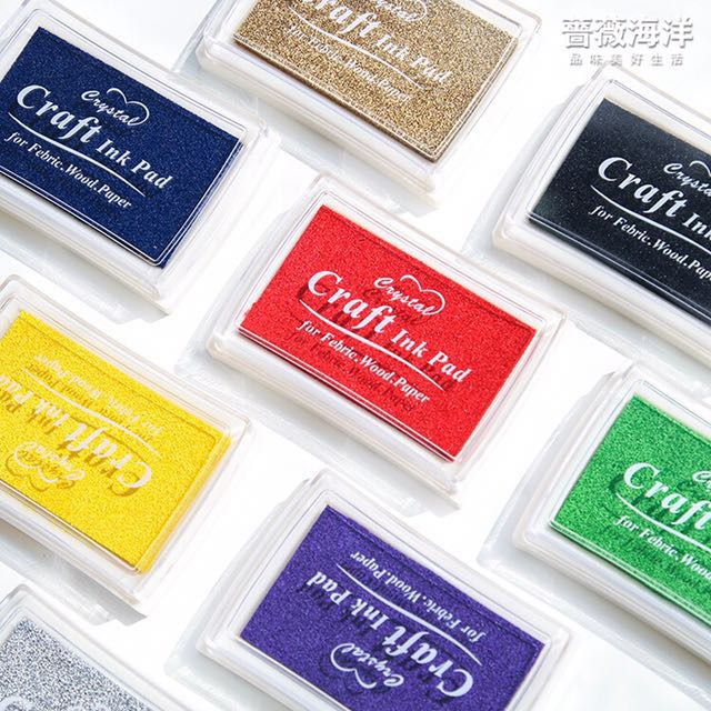 SILVER&GOLD STAMP PAD