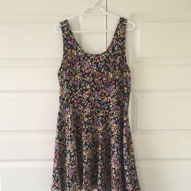 Size 12 | Petite Rainbow Dress