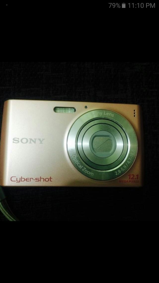 Sony cybershot 12.1