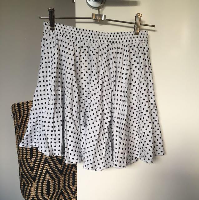 Spot mini skirt - twice the label