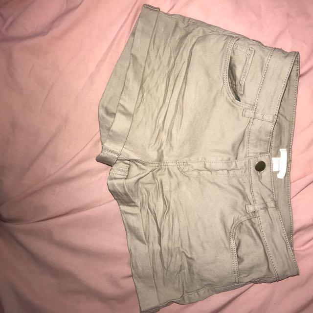 Tan Coloured Shorts