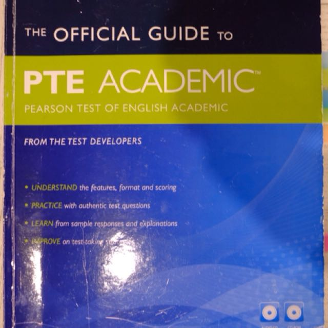 The Official Guide to PTE Academic by Pearson, Textbooks on