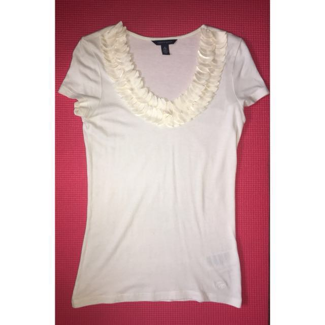 Tommy Hilfiger Scallop Top (Get the next top free)