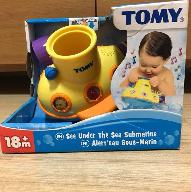 TOMY See Under The Sea Submarine Bath Toy