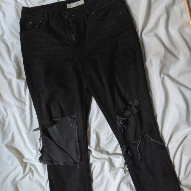 Topshop moto Carey ripped jeans