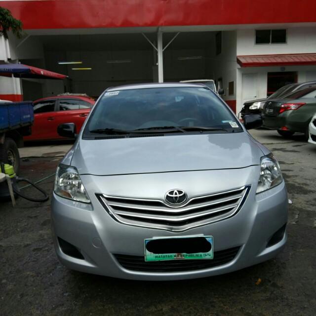 Toyota Vios 1.3 J 2012 Silver