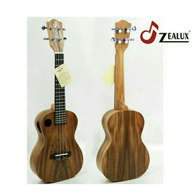"Zealux ukulele 24"" ZUK994S."