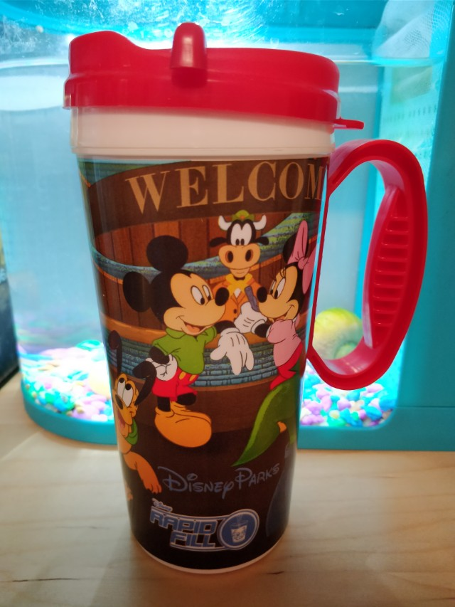 Vintage Disney Travel Mug