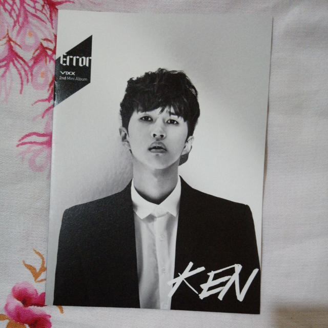 VIXX Ken Error Photobook