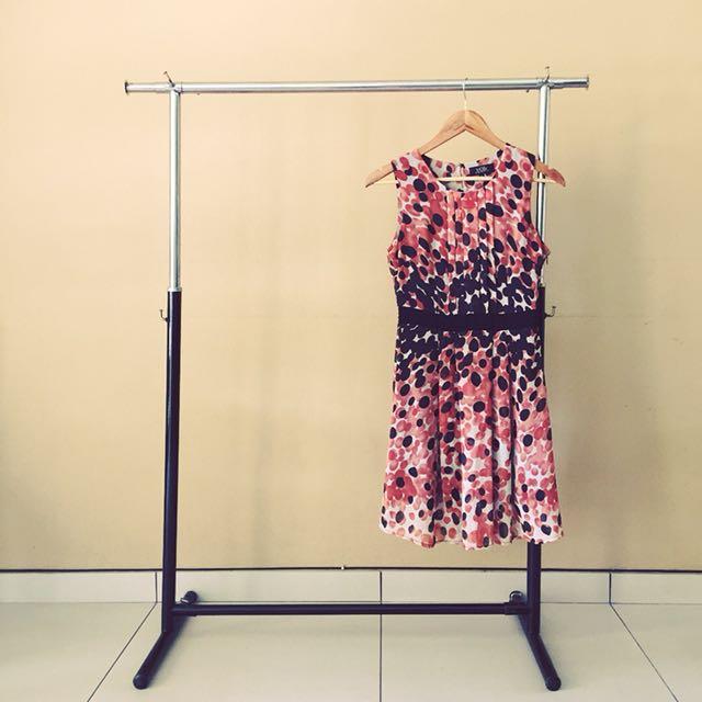 VOIR chiffon dress
