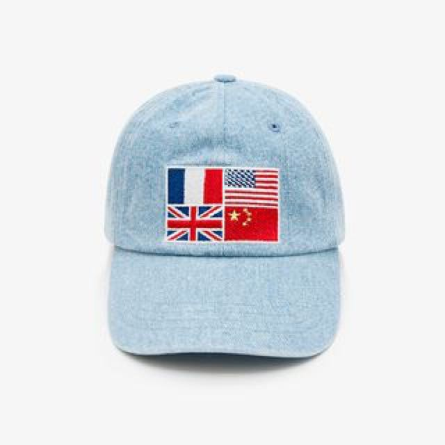 Wasted Paris Worldwide Denim Cap