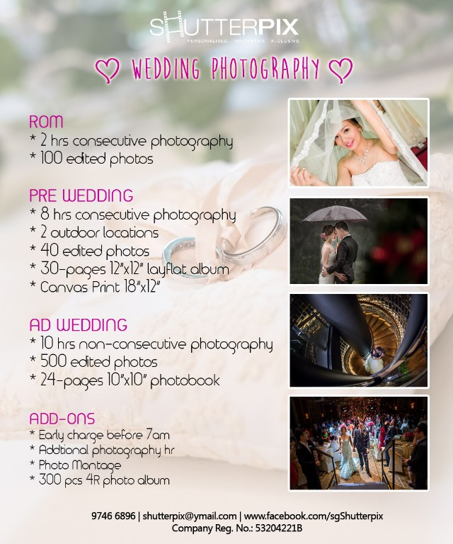 Wedding Photography Packages.Wedding Photography Packages Everything Else On Carousell