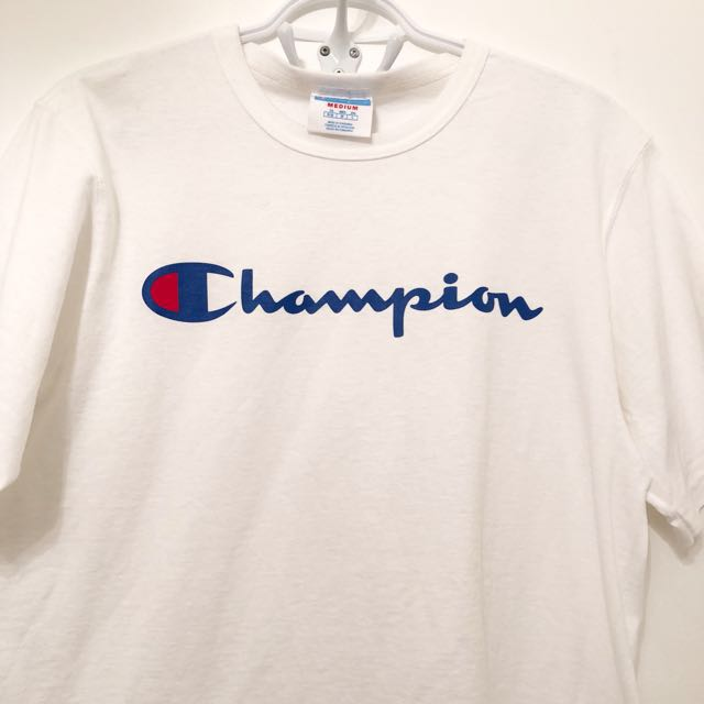 White champion shirt