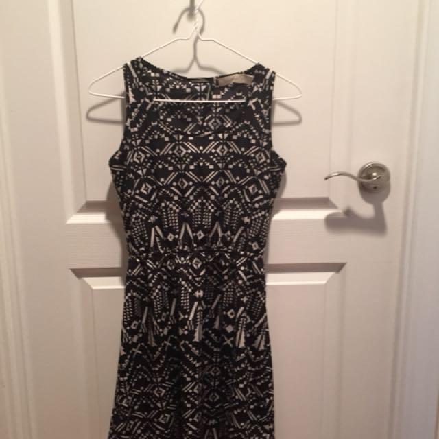 XS Summer Dress w/cutout