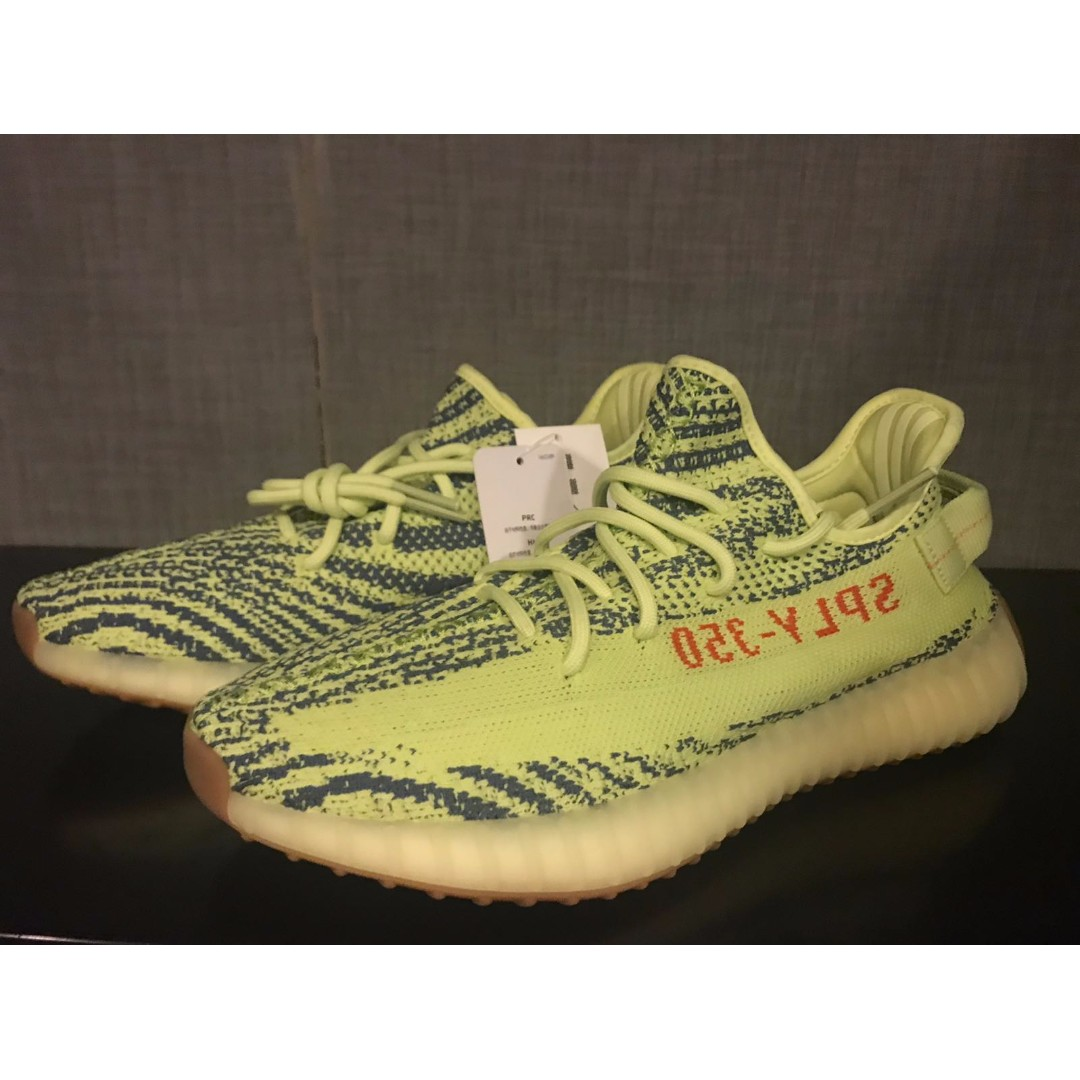 837d327600a3 Yeezy Boost V2 Semi Frozen Yellow   Yebra