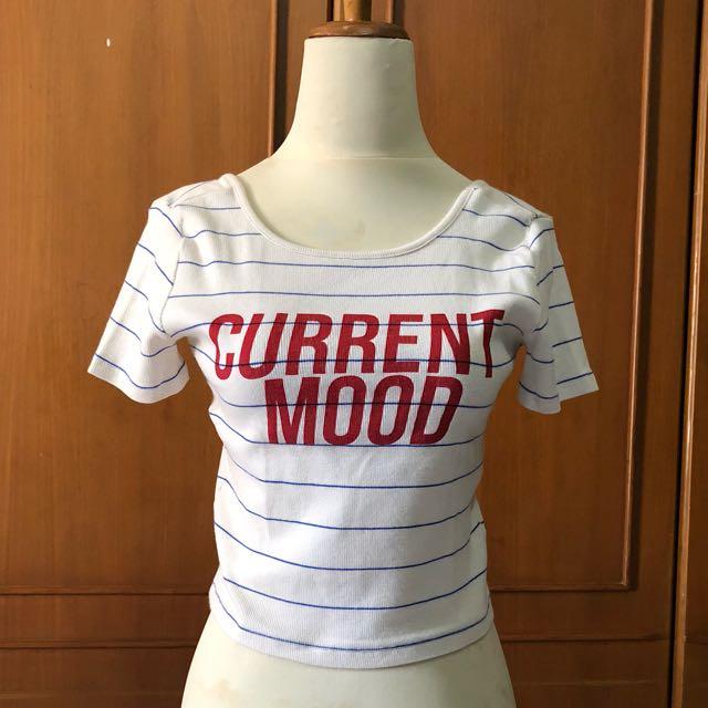 Zara crop tshirt