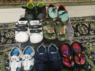 Mix types of prewalker/shoes & slippers