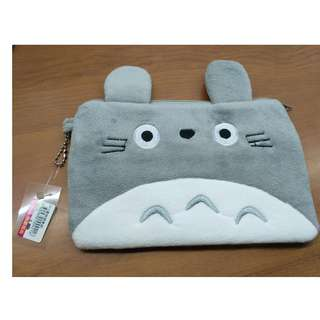 Totoro pencil case pouch cosmetic stationary case with zips