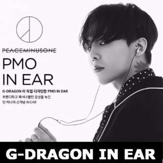 Kpop GD(G-Dragon) GD30 Active Noise Cancelling Earphone PEACEMINUSONE