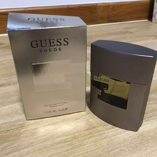 Brand New Men's Guess Suede Perfume