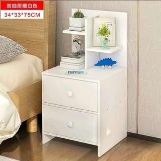 Bed Side Table w. Shelf