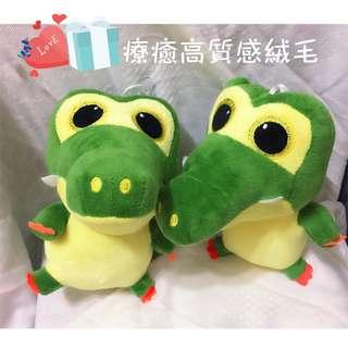 全新現貨 療癒 小鱷魚 可愛 恐龍 娃娃 動物 娃娃機 鱷魚 6吋 玩偶 療鬱 絨毛 小飛俠 吊飾 抱枕 柔綿 玩具 兒童