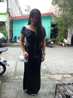 Evening gown (Glitz & Glam) Rent only