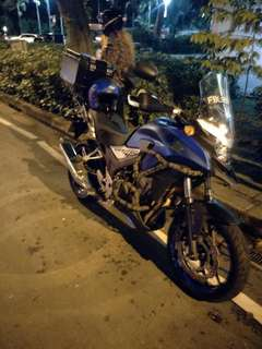 "Bike Been Rescue (Honda Cb400x)             Location: Clemenceau Ave (Sideroad)             Time: 9.53pm (Night)            Date: 30 Dec 17            Cause: Flat Tyre (Tyre Worming)           ""Kureiji Response Team""          Emergency Service"