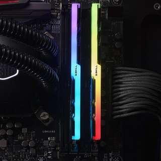 G.Skill Trident Z RGB 8gb x 2 (F4-3200C16D-16GTZR)