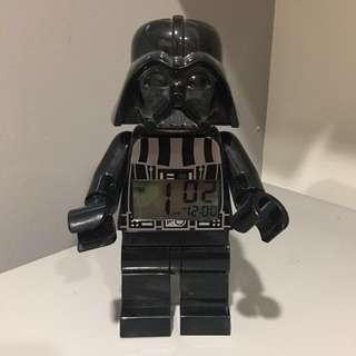 """Darth Vader Star Wars Lego clock 9"""""""