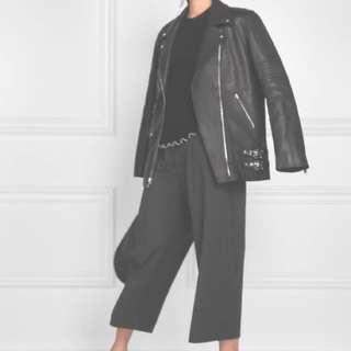 Alexander Wang leather jacket -Size 4