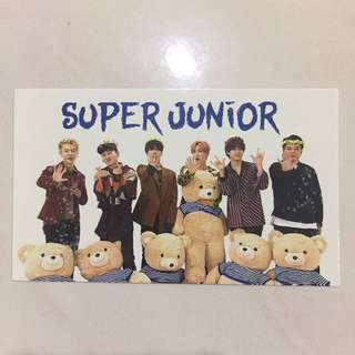 Super Junior mini calender 2018